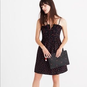 Madewell Cami dress in Strawberry print